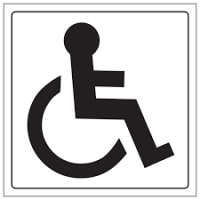 Disabled Sign 1