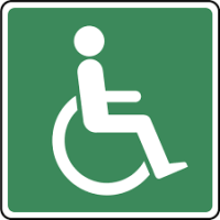Disabled Sign 2