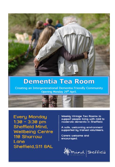 Dementia Tea Room